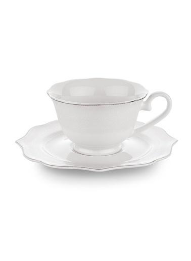 Schafer 12 Parça Dantella Kahve Fincan Takımı Renkli